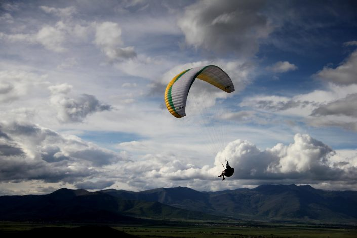 Paragliding Time to Macedonia